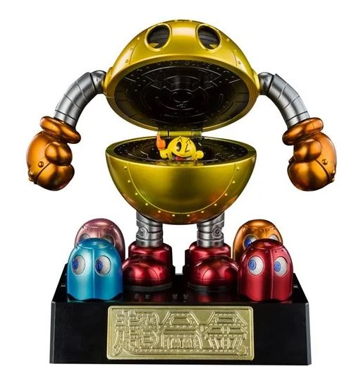Pac Man Chogokin Action Figure (Pre order: Coming in Sept 2021) Limited quantity available