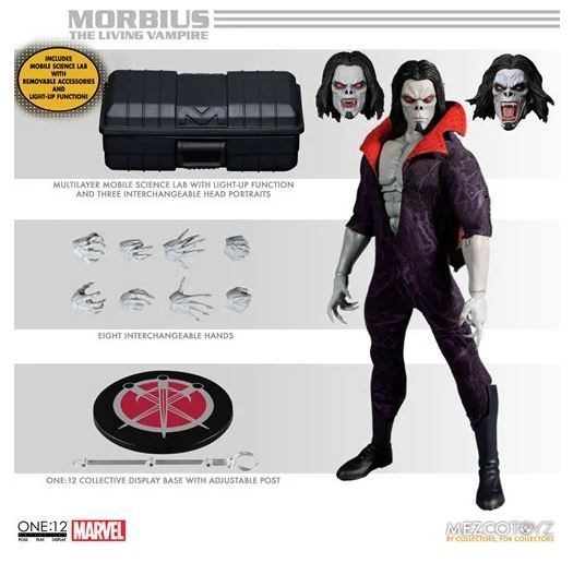 Morbius The Living Vampire One:12 Collective Action Figure (Pre-order item, est delivery Nov 2021)