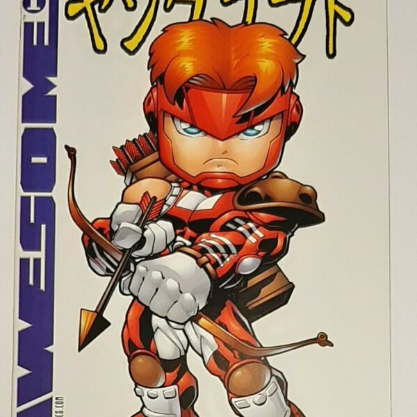 Youngblood 1, Cover G, Awesome Comics, Feb 1998