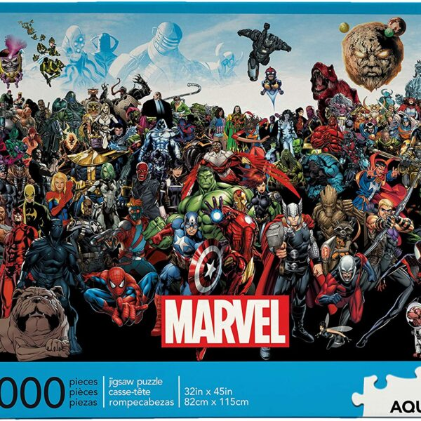 Marvel Comics Puzzle, Challenge yourself with 3,000-Pieces of Superhero awesomeness