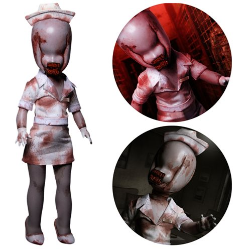 Bubble Head Nurse from Silent Hill 2 by LDD Presents.  Your worst nightmare personified (Pre-Order: expected September 2021)