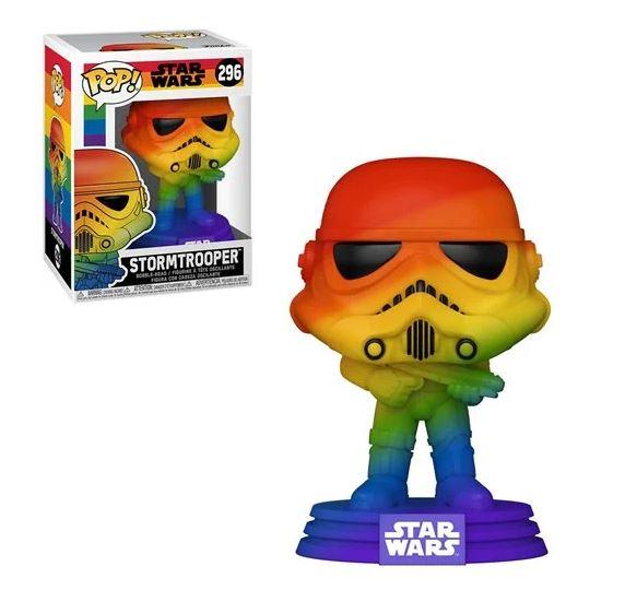 Stormtrooper Pride 2021 Rainbow Pop! Vinyl Figure. Limited quantity (pre order item)